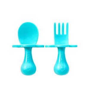 beebide söögitarvikute komplekt sinine