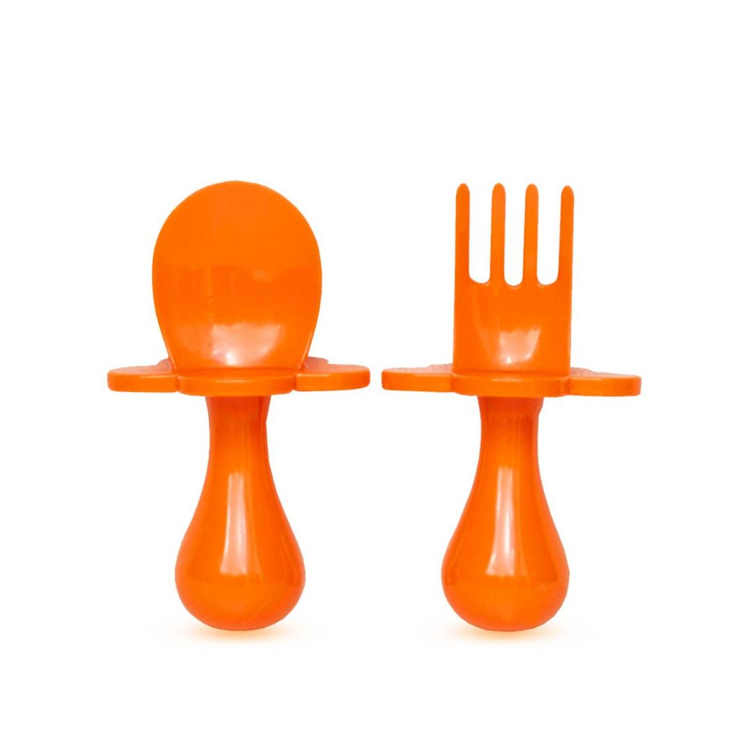 beebide söögitarvikute komplekt oranž